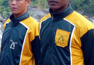 Gorkhaland Personnel (GLP) soldier for the movenet