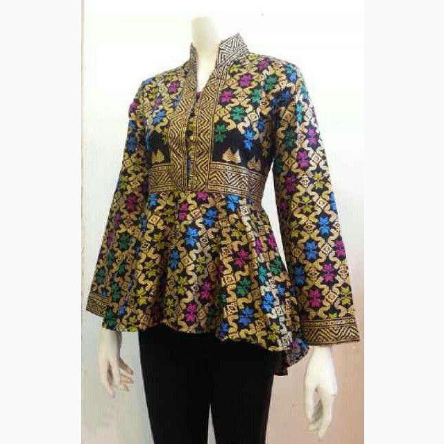 Baju Batik Atasan Wanita Kerja: 25+ Model Baju Kerja Wanita Muslimah 2016