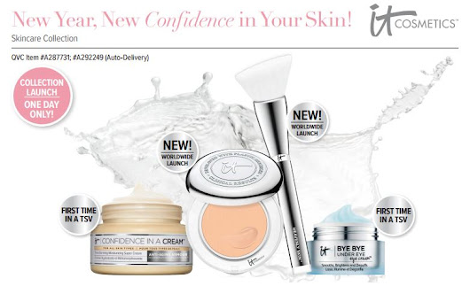 Today's QVC TSV: IT Cosmetics™ New Year, New Confidence in Your Skin! Skincare Collection