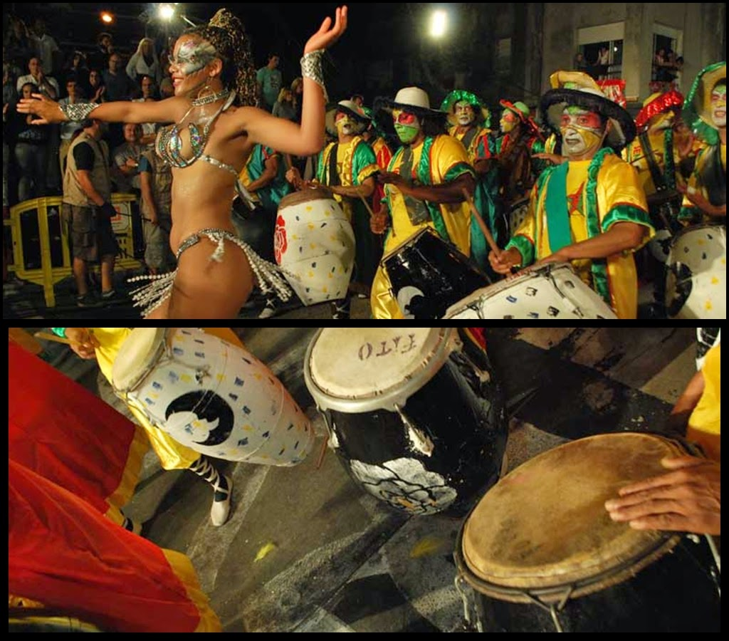 Desfile de Llamadas.Senegal. Montevideo. 2011