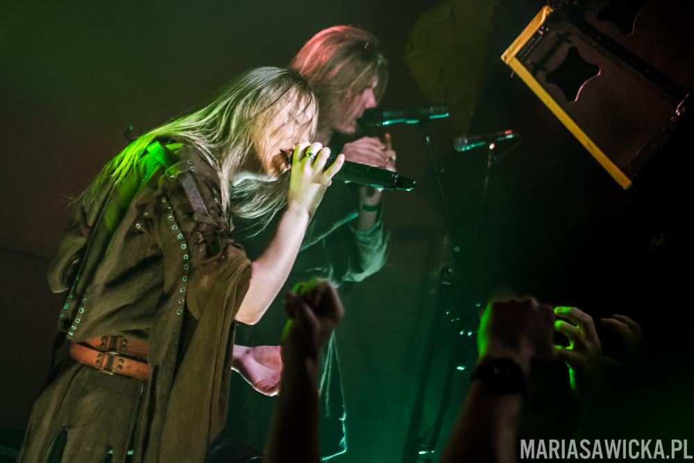 Arkona Russia Masha Scream Pagan Rebellion Tour 2015
