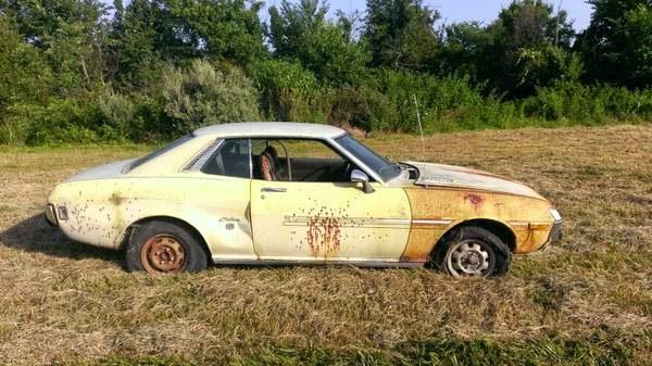 Restoration Project Cars: RARE 1973 Toyota Celica ST ...