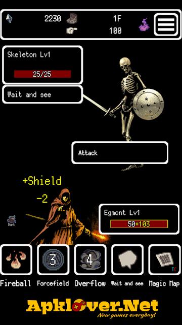 Buriedbornes Hardcore RPG APK MOD