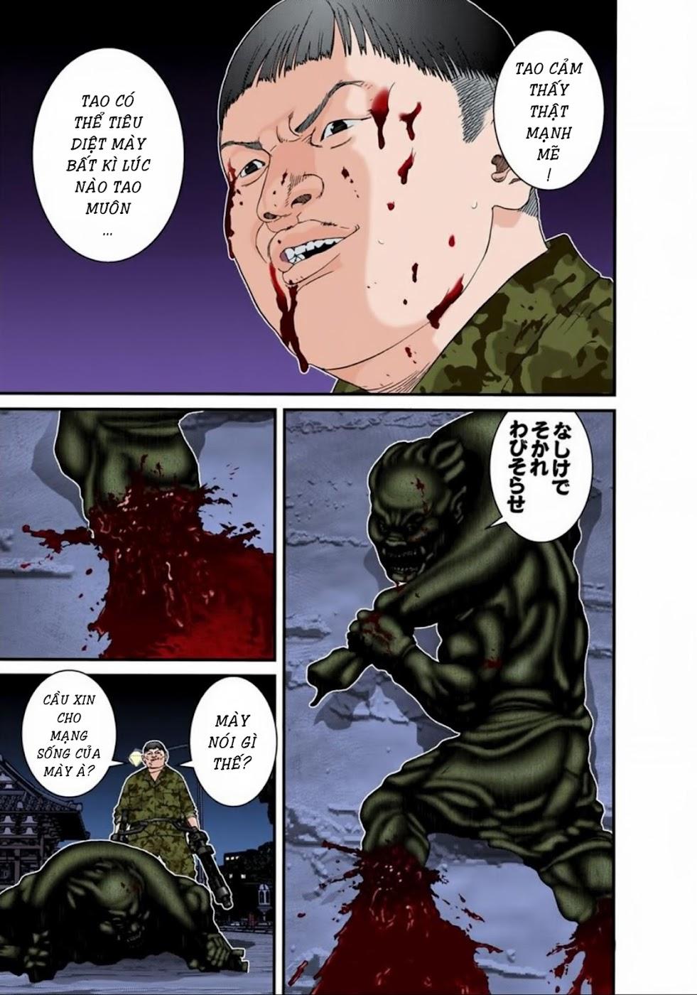 Gantz Chap 72: Tàn sát trang 3