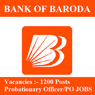 Bank Of Baroda, BOB, Bank, Probationary Officer, Graduation, freejobalert, Sarkari Naukri, Latest Jobs, bob logo