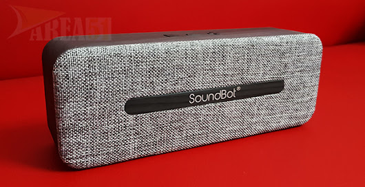SoundBot SB574 Wireless Bluetooth Speaker Review