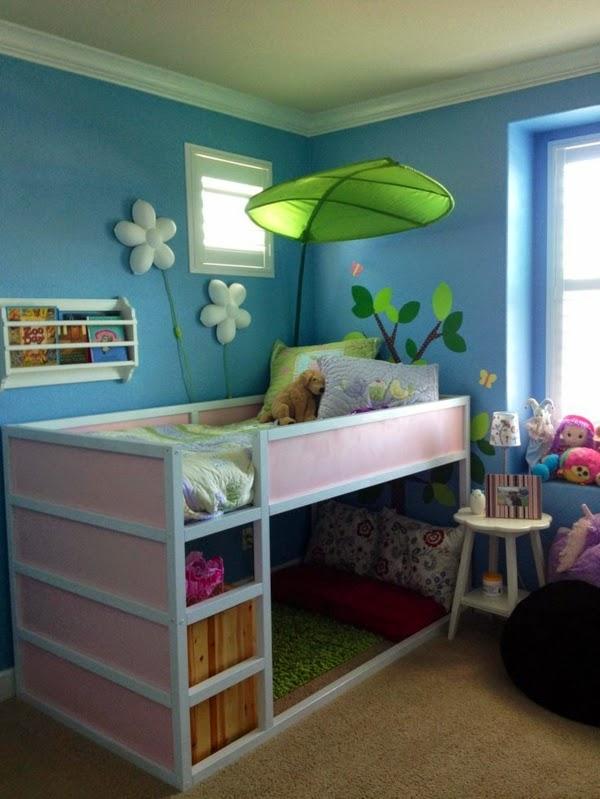 Lindo dormitorio para niña
