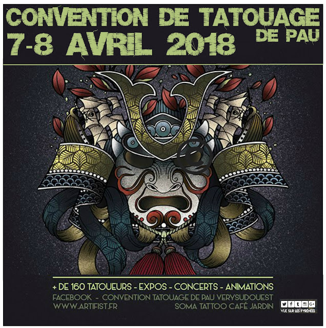 Very Sud Ouest Tattoo Convention Pau 2018