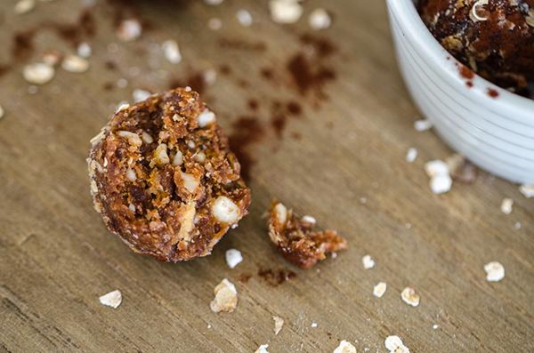 Peanut Butter & Chocolate Energy Balls