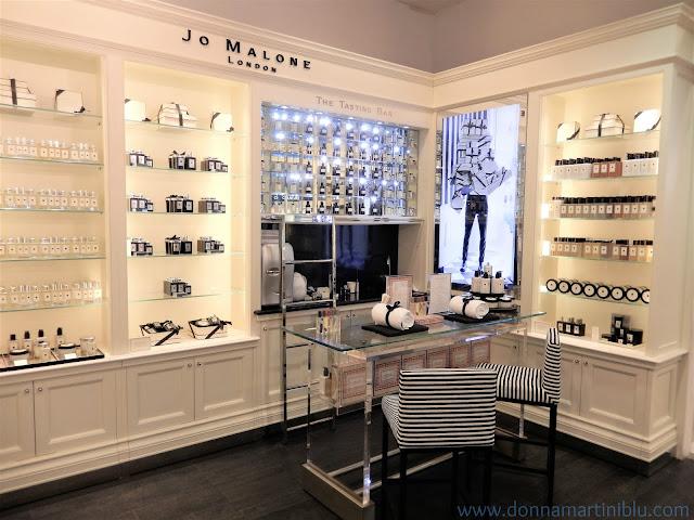 Espacio Testing Bar de la firma en El Corte Inglés donde se deleita a las clientas con los productos de Jo Malone