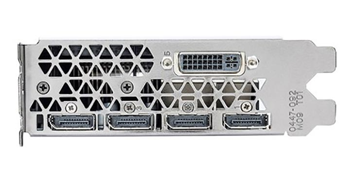 NVIDIA Quadro M5000 portları