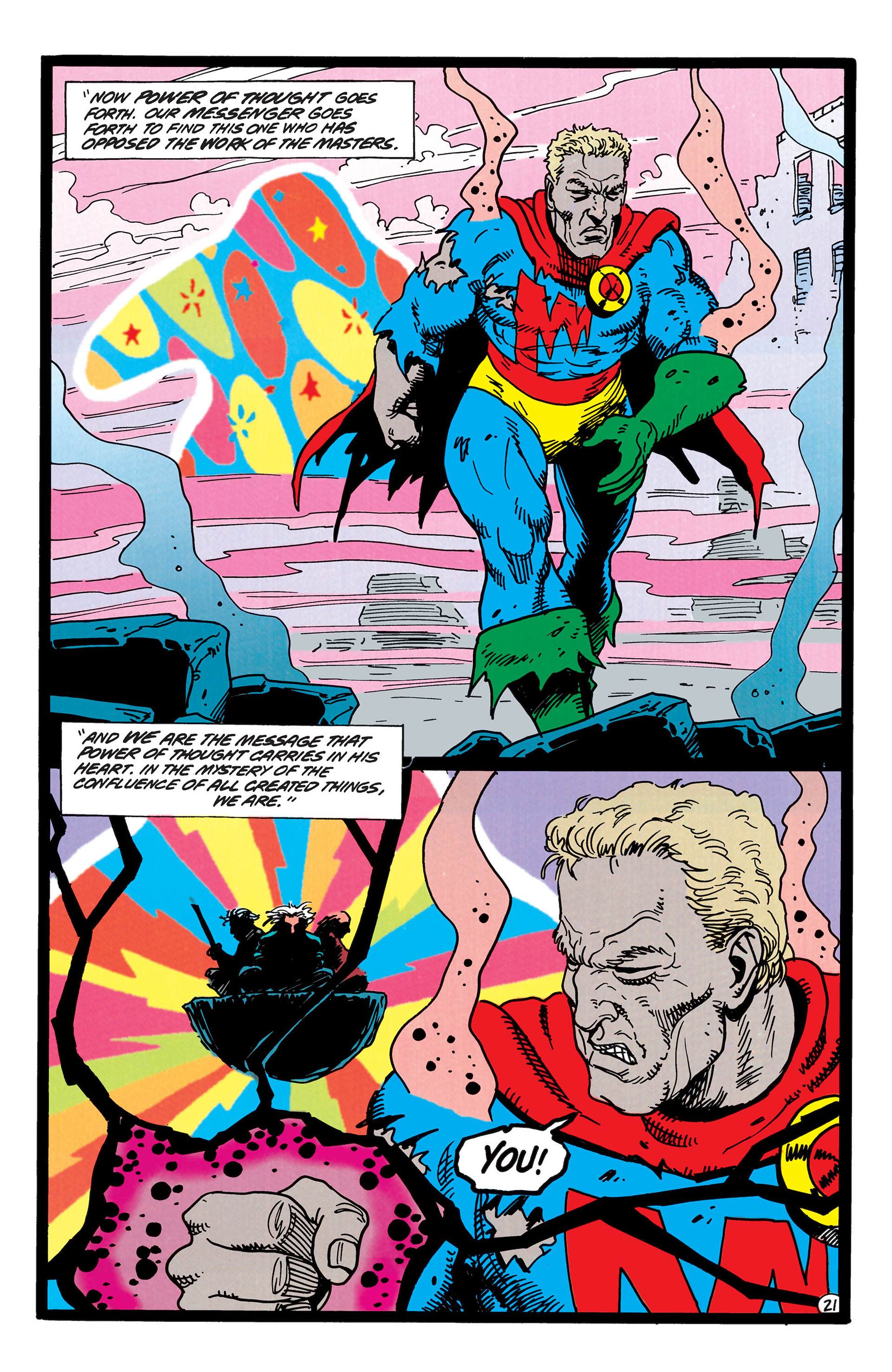 Read online Animal Man (1988) comic -  Issue #50 - 21