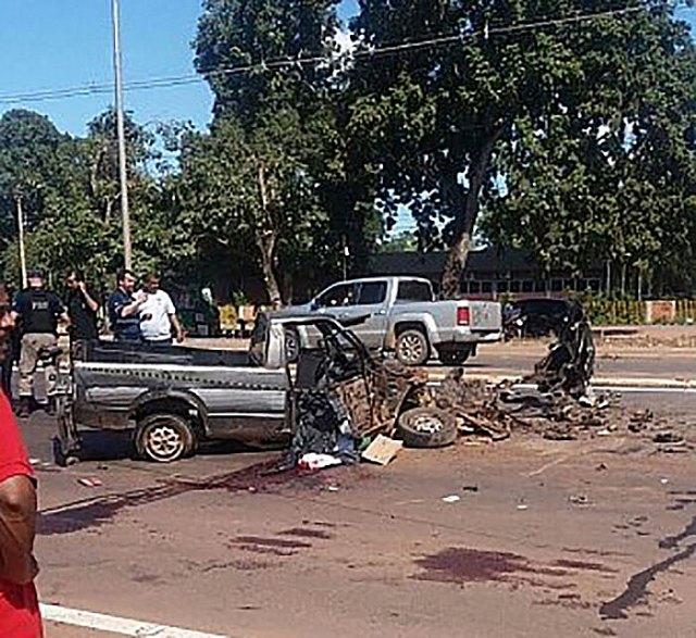 Acidente brutal arranca cabeça de motorista na BR 364 [CENAS FORTES]