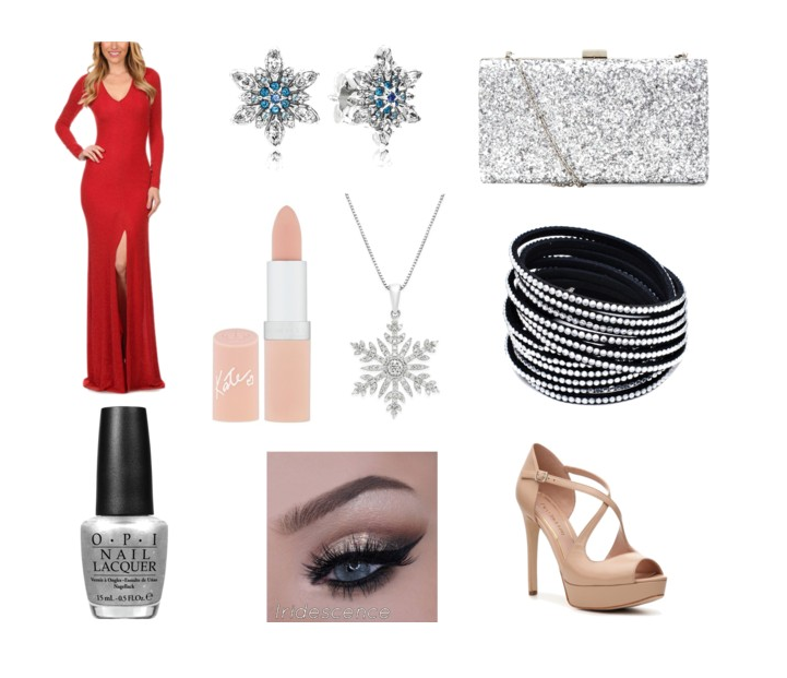 Elegant holiday glam
