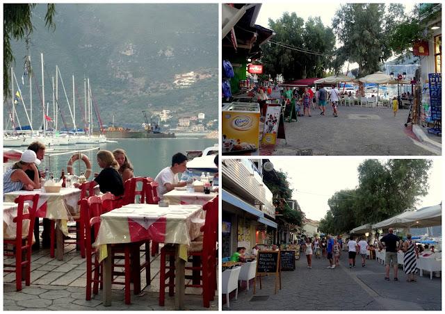 Outdoor restaurants Vasiliki
