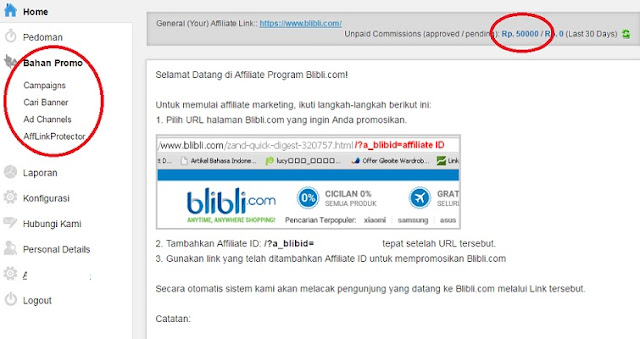 Panduan Lengkap Bergabung di Blibli Affiliate Program