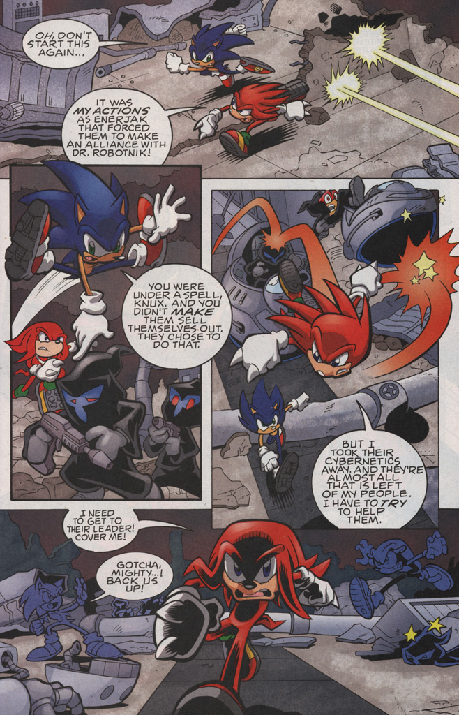 Read online Sonic The Hedgehog comic -  Issue #189 - 9