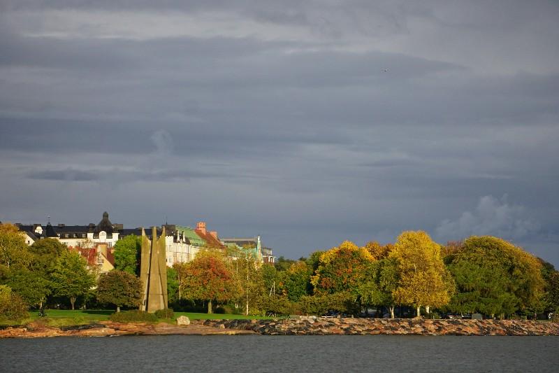 Ruska, foliage, turning leaves