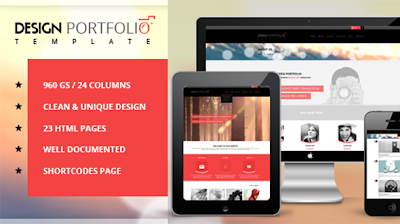 Design Portfolio Responsive HTML Theme