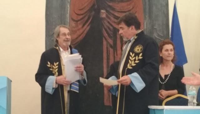 Επίτιμος διδάκτορας του Πανεπιστημίου Πελοποννήσου αναγορεύτηκε στο Ναύπλιο ο Ντ. Πάμμεντερ