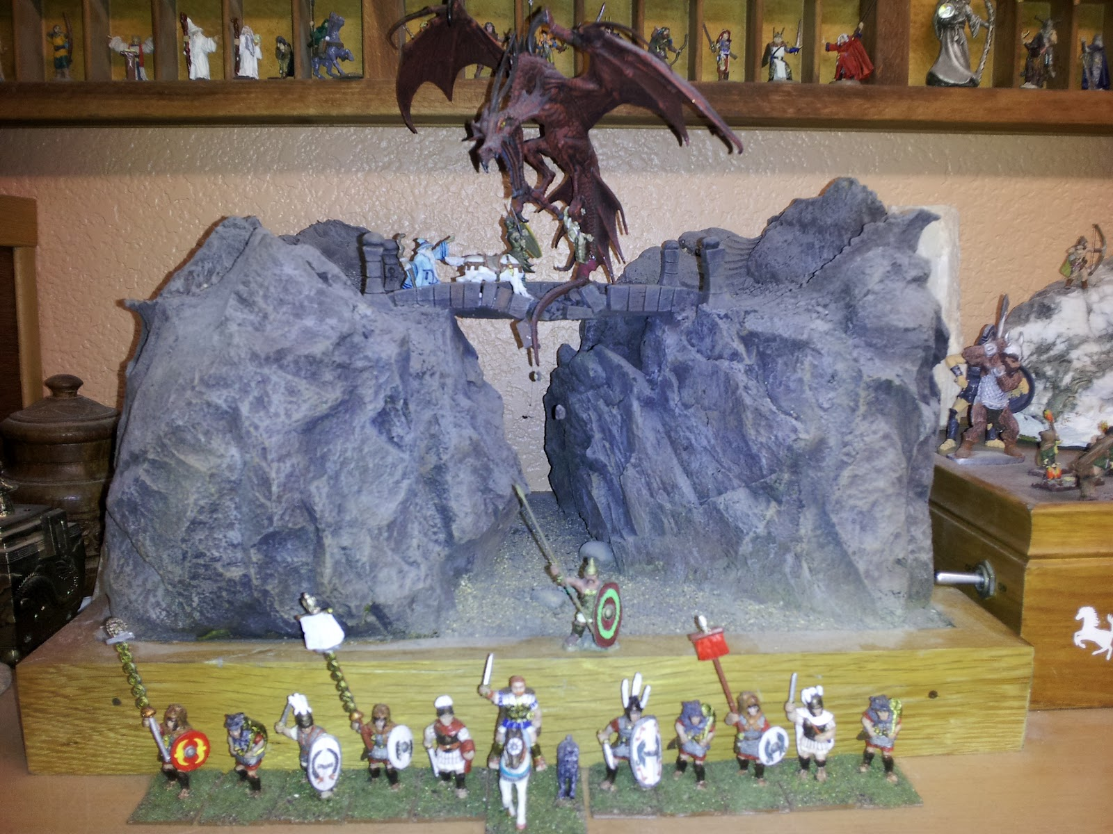 A Miniatures Hobby Room My Collections