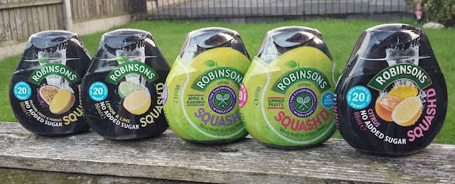 Robinsons Squash'd #EnjoyMoreWater Enjoy More Water