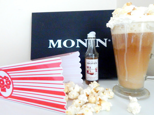 Popcorn Lattes thanks to Monin*