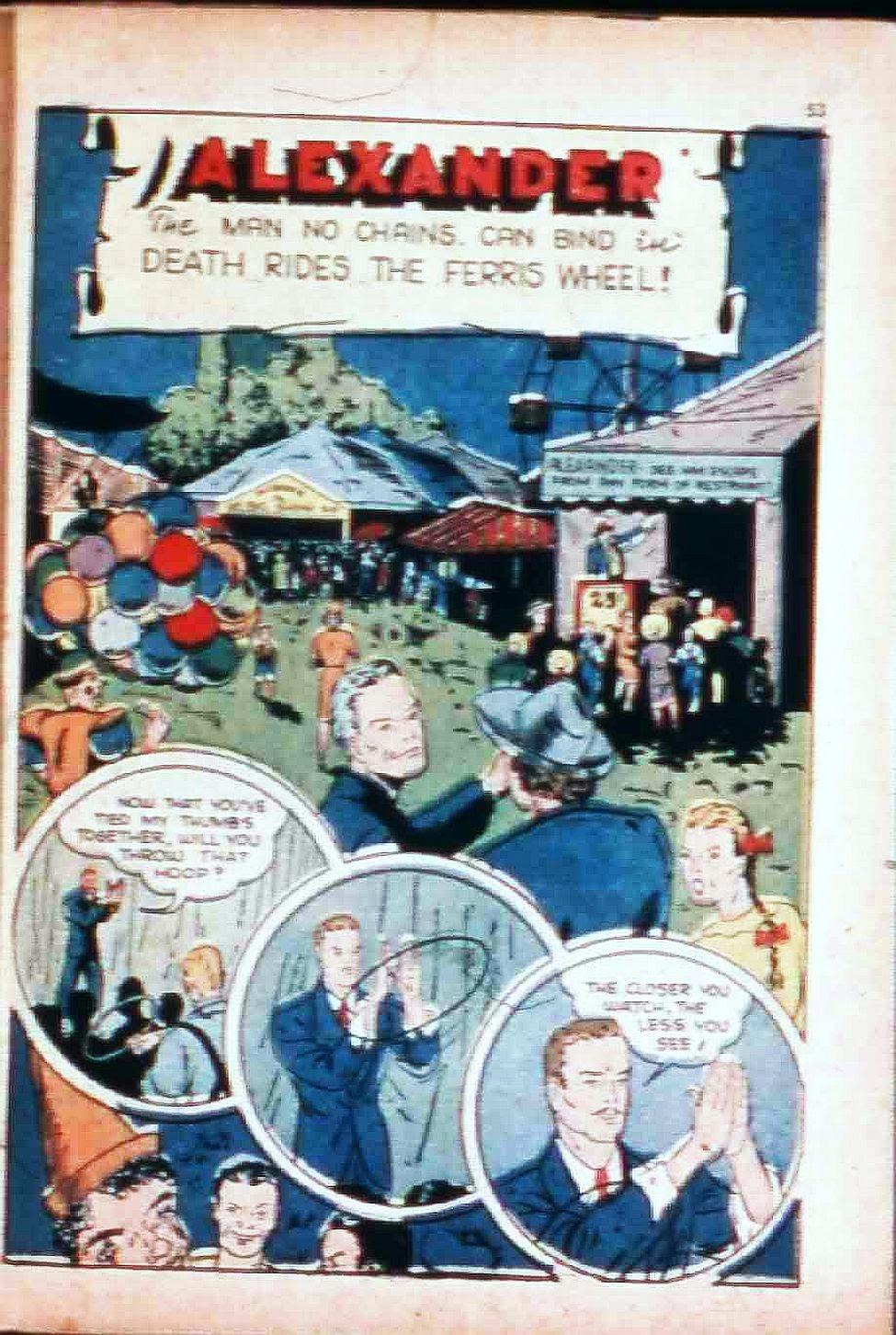 Read online Super-Magician Comics comic -  Issue #17 - 52