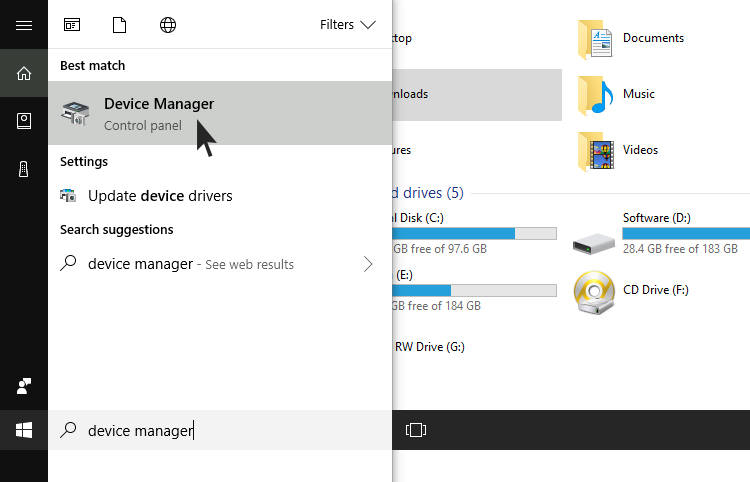Cara Update Driver VGA via Device Manager Windows 10