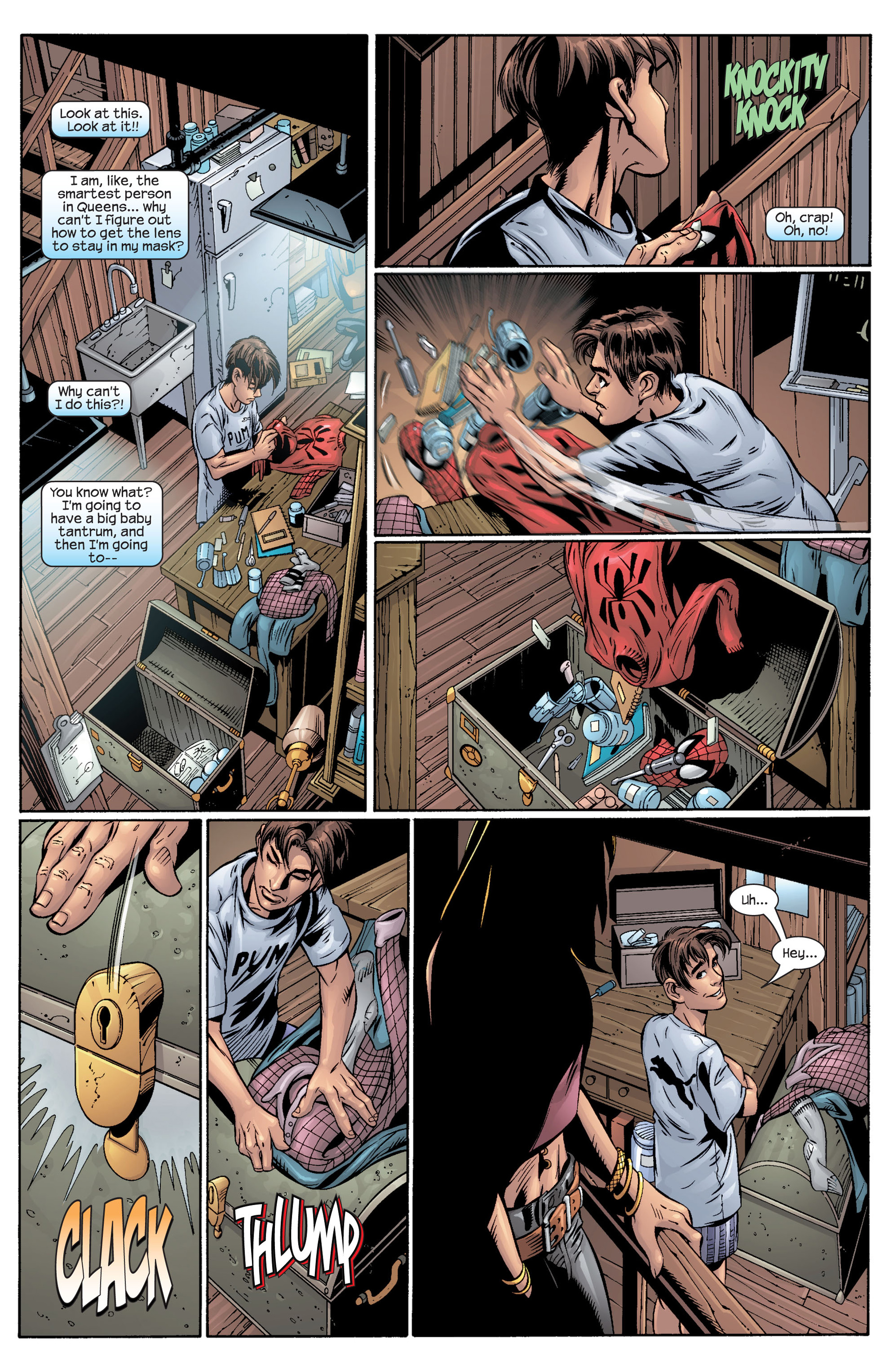 Read online Ultimate Spider-Man (2000) comic -  Issue #40 - 17