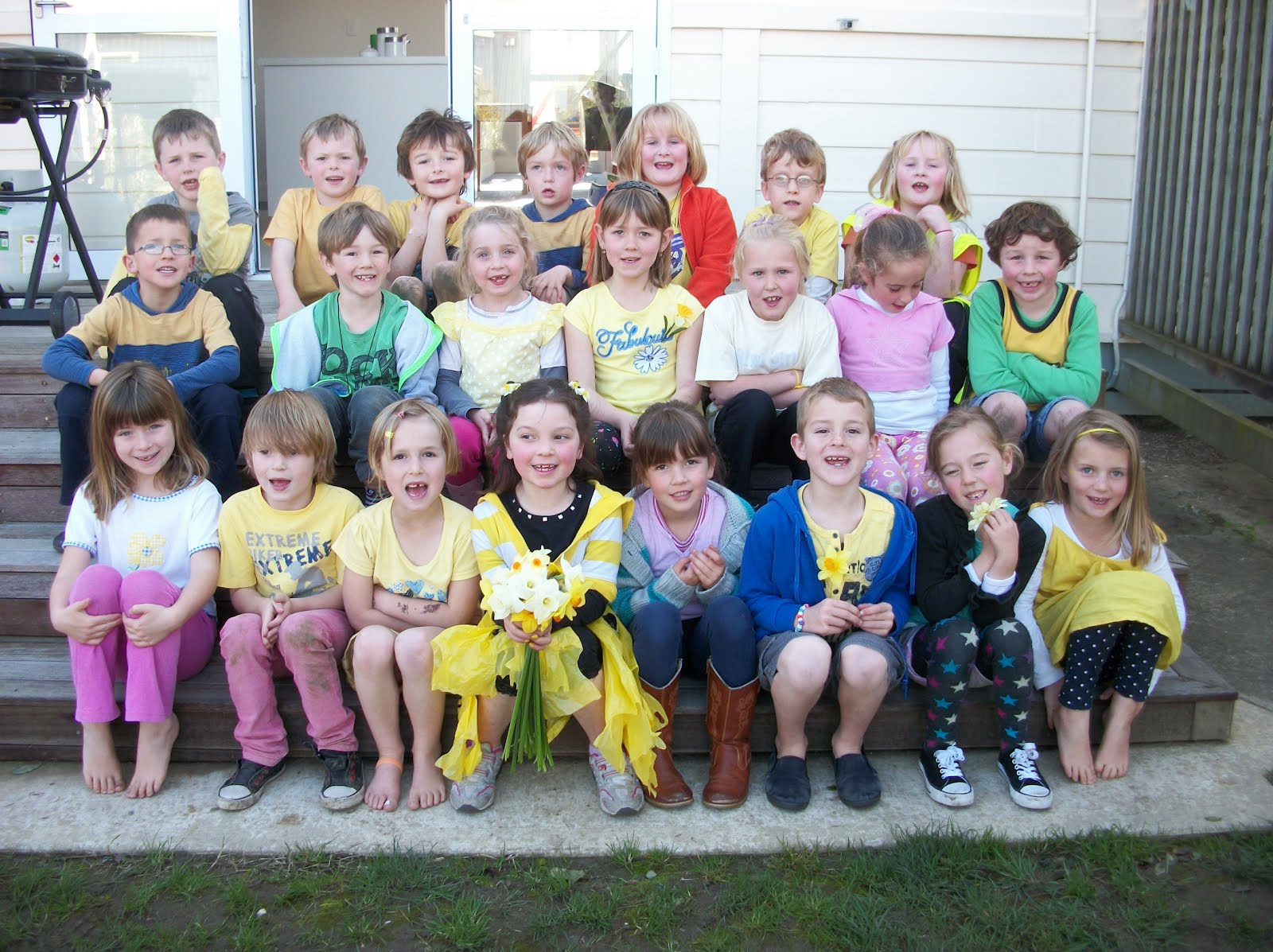 Room2 Brightwater School Nelson New Zealand 2019 Daffodil Day