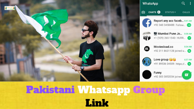 107+ Best Pakistani Whatsapp Group Link List Collection