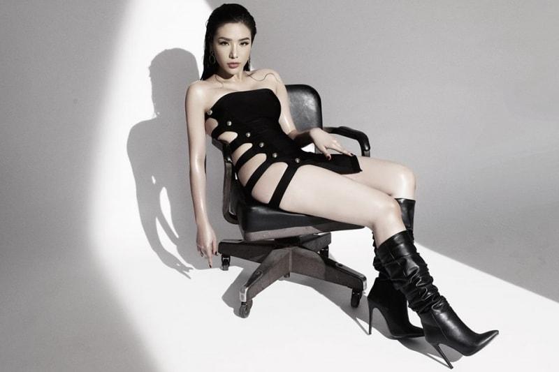 Top 25 Hoa hậu siêu Quốc gia Khánh Phương khoe đường cong hình chữ S trong bộ ảnh mới - Ảnh 6