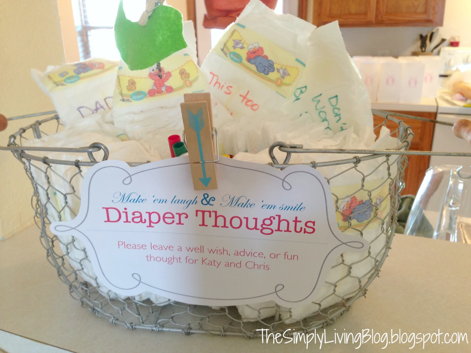 writing advice on diapers