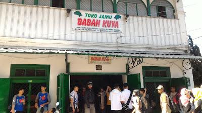 Toko Jamu di Bandung