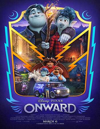 Onward (2020) English 720p WEB-DL x264 850MB ESubs