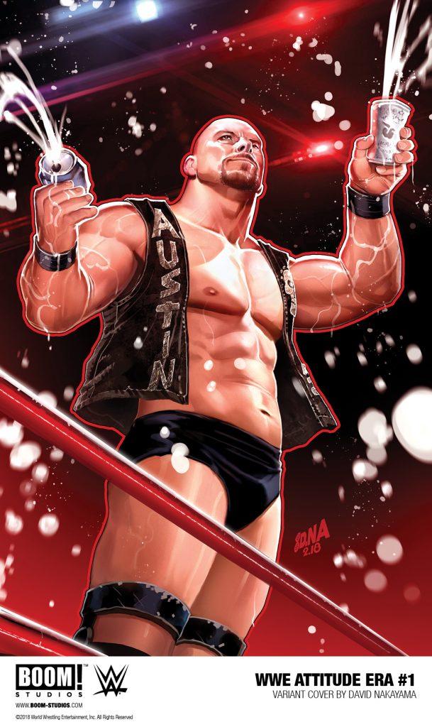 WWE: ATTITUDE ERA #1 FIRST LOOK