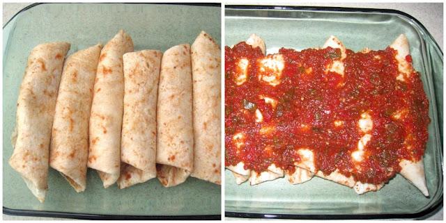 Foodie Friends Friday: Connie's Chicken Enchiladas