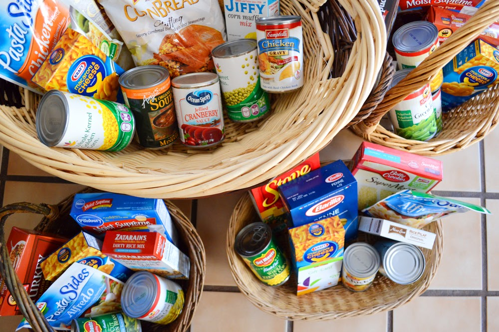 Peachy Cheek: giving back - thanksgiving baskets