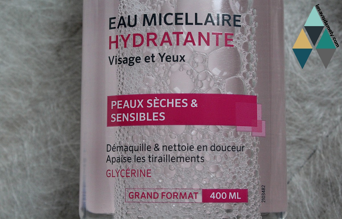 eau micellaire diadermine hydratante avis