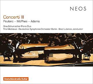 GrauSchumacher - Poulenc, McPhee, Adams - Neos
