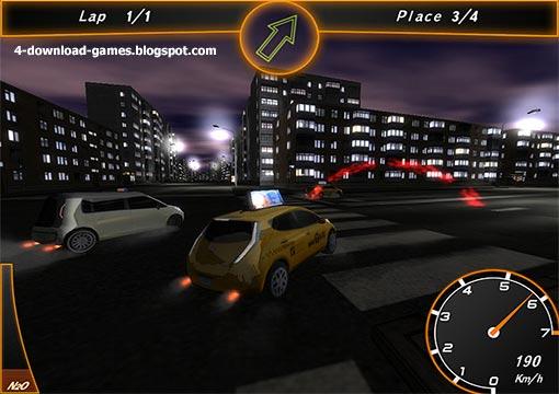 لعبة سباق سيارات الاجرة Crazy Taxi Racers