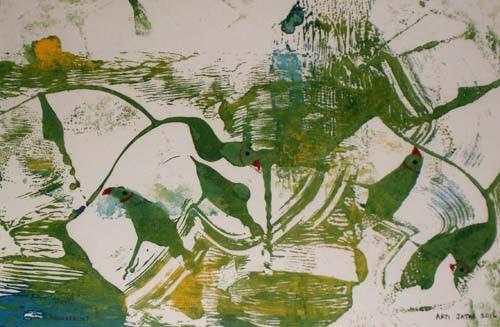 24th Sept. – 8th Oct. 2016: Pradarshak presents 'Monoprints' by Arti Jatar