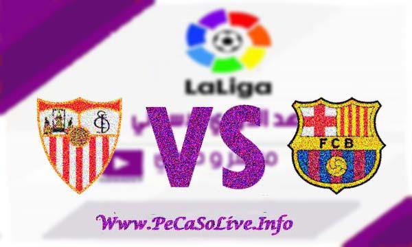 مشاهدة مباراة برشلونة واشبيلية بث مباشر 6-10-2019 Barcelona vs Sevilla live