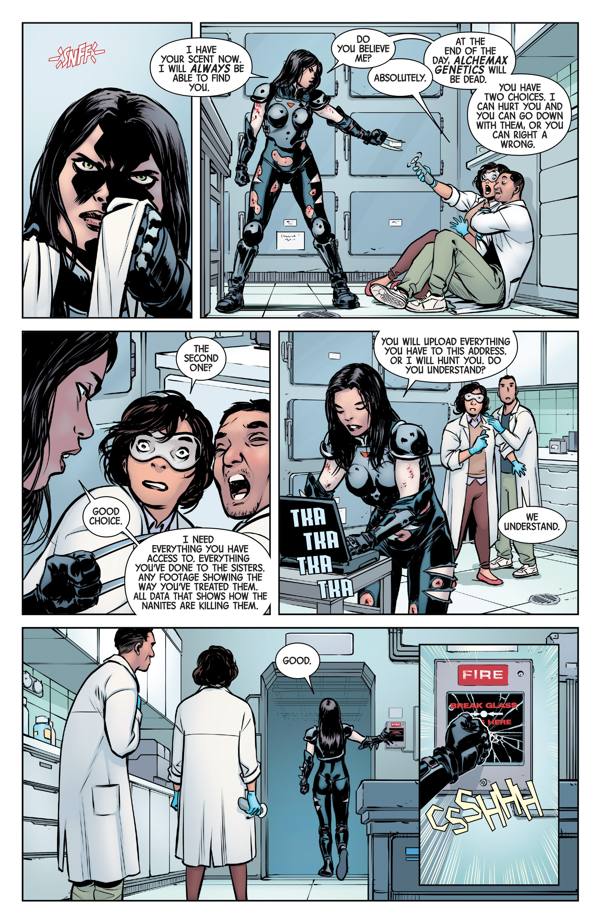 Read online All-New Wolverine (2016) comic -  Issue #6 - 11