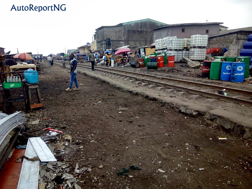 An Overview of The Rot in Nigeria's Railway - Photos