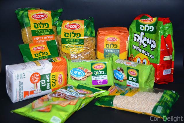פלוס תזונתי מוצרים עם דגנים מלאים Whole grains products