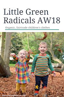 little green radicals aw18, organic fairtrade kids clothing, themummyadventure.com