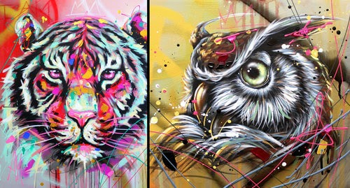 00-Andrea-Marqui-Bright-Paintings-of-Animal-Portraits-www-designstack-co