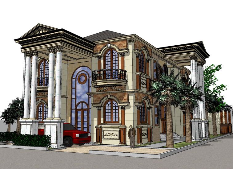Desain Rumah Indonesia: Desain Rumah Yunani